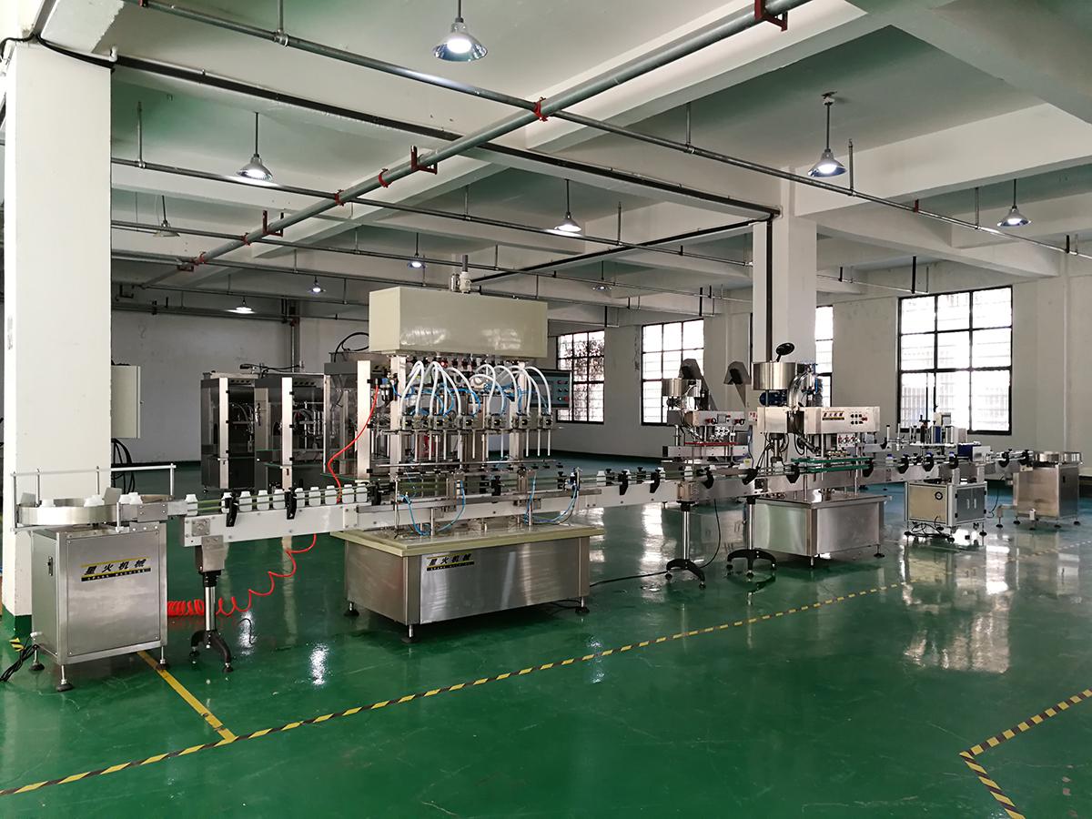 南昌防腐蚀液体灌装生产线
