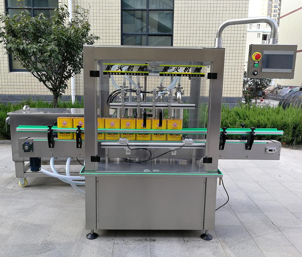 南昌4头液体灌装机