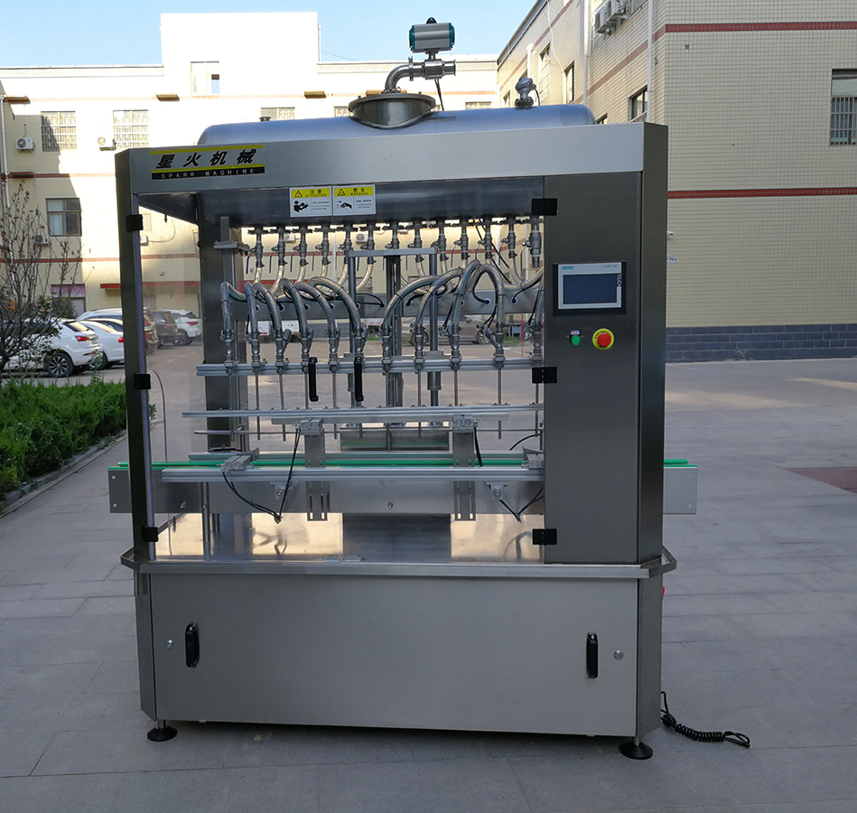 长沙12头液体灌装机